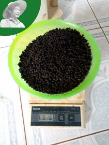 measure quality of black pepper density