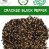 Coarse black pepper