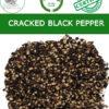 Cracked black peppercorns - A product of Vietnam, Chu Se Pepper Organic