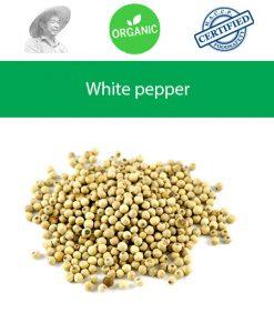 Whole white peppercorns 250g